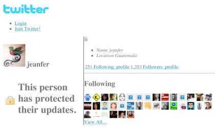 jeanfer (jeanfer) on Twitter