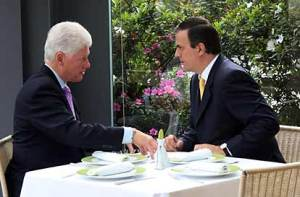 Clinton y Marcelo