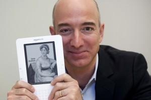 Jeff Bezos y su Kindle